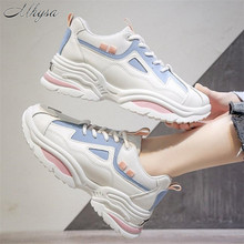 Mhysa 2020 Spring Women Shoes New Chunky Sneakers For