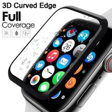 3D Гидрогелевая Защитная пленка с закругленными краями для Apple Watch 5 4 3 2 1 Защитная пленка для Iwatch 40 мм 44 мм 38 мм 42 м