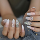 Crystal Ombre Nails ...
