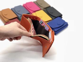 Portfele i portmonetki damskie skórzana moda mała portmonetka luksusowy telefon portfel luksusowy design torebka tanie i dobre opinie Sendefn Prawdziwej skóry Skóra bydlęca CN (pochodzenie) cow leather 7 5cm Stałe Pieniądze klipy 10cm AML03 Unisex