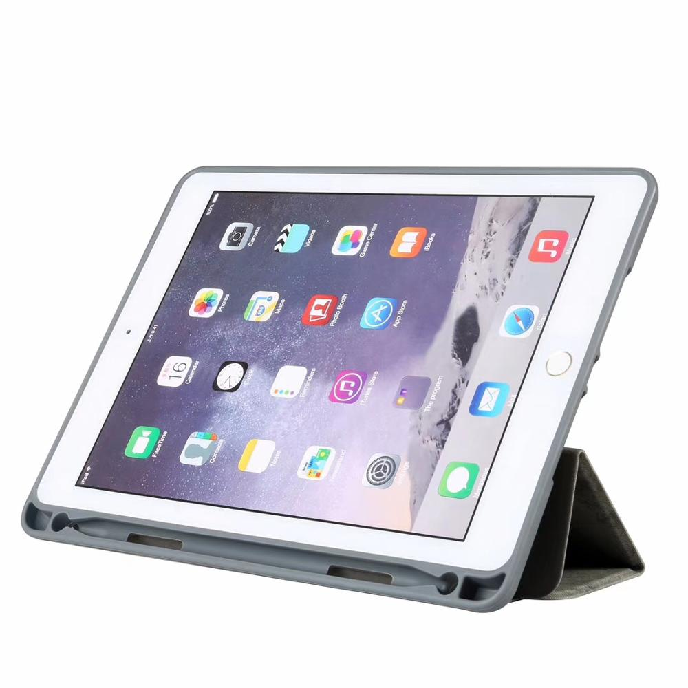 Case with Pencil Holder for iPad Pro 10.5 , Slim Full Body Protective Shockproof Smart Cover for iPad Pro 10.5 inch A1701 A1709