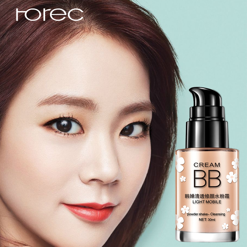 ROREC Isolation Cream Foundation Base Face Primer Makeup Waterproof Oil-free Moisturizer Brighten Invisible Pores Concealer image