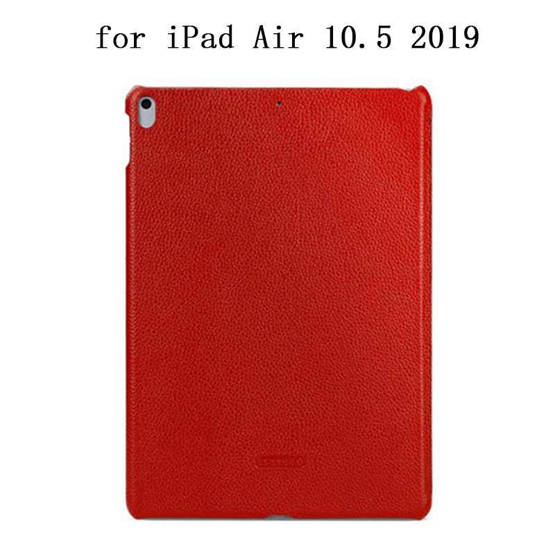 New Tablet Case Skin for iPad Air 10.5 2019 Luxury Genuine Leather Cover Shell for iPad Air 2019 Ultra-thin Protection Shield