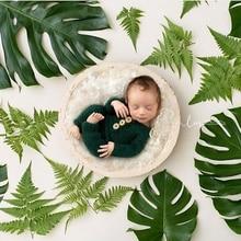 10 colors big Wooden bowl  infantile creative photography Props basin creative newborn photography prop
