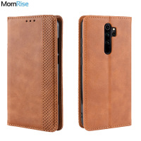 Luxury Retro Slim Magnetic Leather Flip Cover For Xiaomi Redmi Note 8T / 8 Pro / 9S Case Book Wallet Card Stand Soft Cover Bags