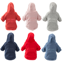 Hipidog Free Shipping Warm Dog Clothes Winter Hoodies for Small Medium Dogs Dropshipping