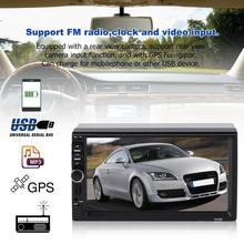цена на 7 Inch 2Din Car MP5 Player With GPS Navigator MP3 TV Player FM Radio 12V Touch Screen Music Player