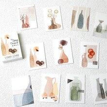 Lomo-caja de tarjetas de papel para decoración, 28 Uds., pequeño diario para escribir, libro de recortes, mensaje de felicitación, marcador, adhesivo para pared con foto, regalo