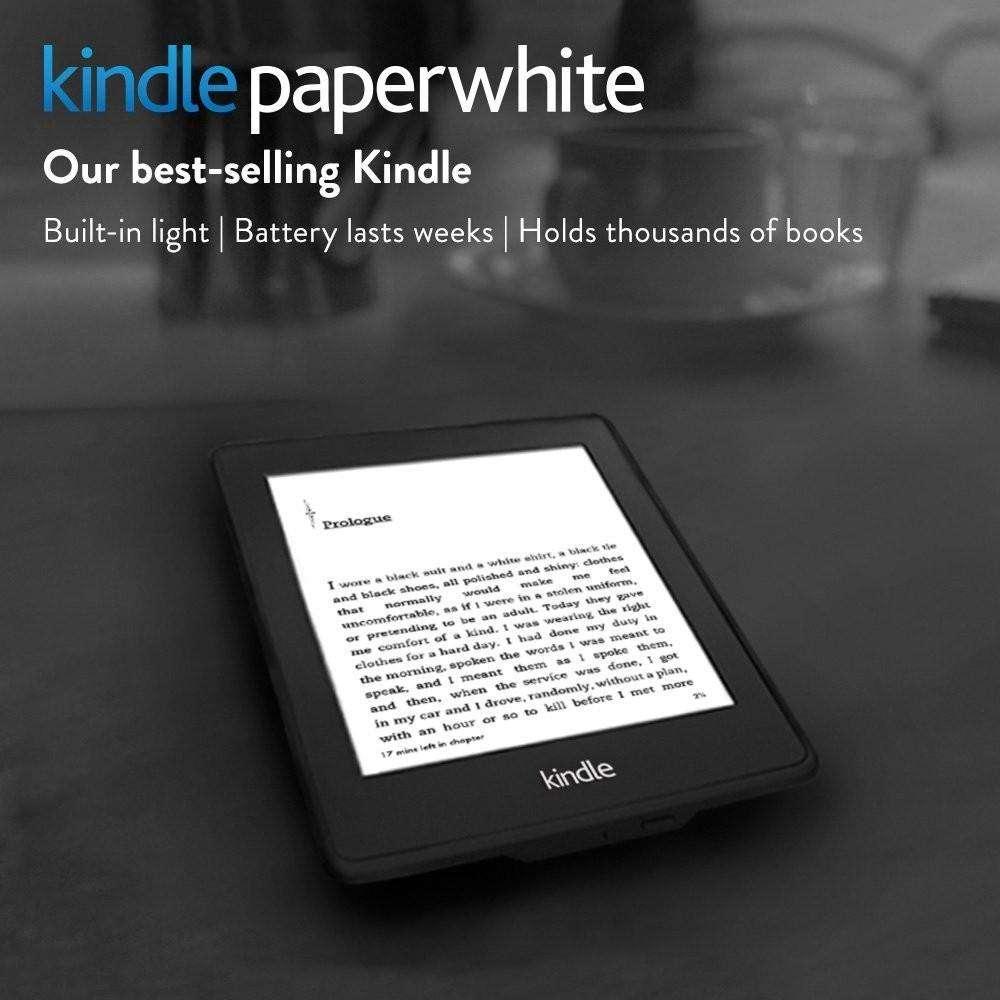 Kindle paperwhite 2 usado leitor de ebook registrável ereader e leitor e-livro de tinta