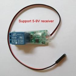 Wersja wysokiego napięcia K1 1ch sygnał pwm łącznik przekaźnikowy światło nawigacyjne kontroler wsparcie 5 9V odbiornik części do zdalnie sterowanego samolotu w Części i akcesoria od Zabawki i hobby na