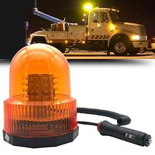 2019 Car LED Beacon Urgence Truck Auto stroboscopic Yellow flasher Strobe flashlight 12V 24V