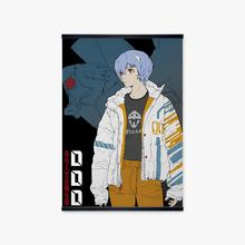 Japanese Anime Wall Pictures For Home Decor Painting Evangelion 00 Pilot Ayanami Rei NERV Cartoon Print Canvas Art Manga Poster