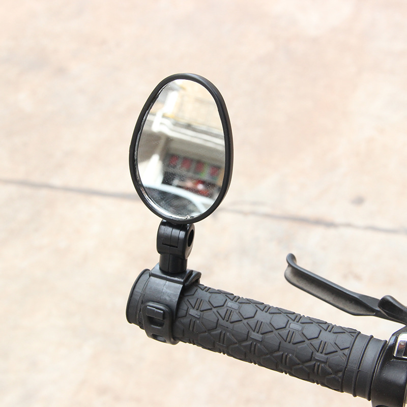 Mountain Bike Bicycle Rearview Mirror Wide-angle Plane Mirror Bicycle Glass Retroreflector Flat Safety Glasses Riding Equipment