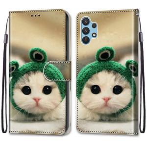 Image 3 - Etui On For Samsung Galaxy A32 4G A32Lite 6.4 inch Case Wallet Flip Leather Case For Samsung A32 5G 6.5 Cute Animal Phone Cover
