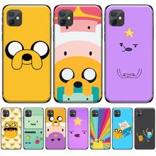 adventure time cute Beemo BMO Jake Finn Lumpy Phone Cover For iphone 4 4s 5 5s 5c se 6 6s 7 8 plus x xs xr 11 pro max adventure time backpack with finn and jake cn bmo backpack beemo be more cartoon robot high grade pu green