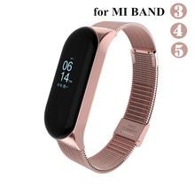 Mi-Band Correa Metal Xiomi 4-Bracelet 5-Strap for 4-bracelet/Correa/Xiomi/.. Screwless