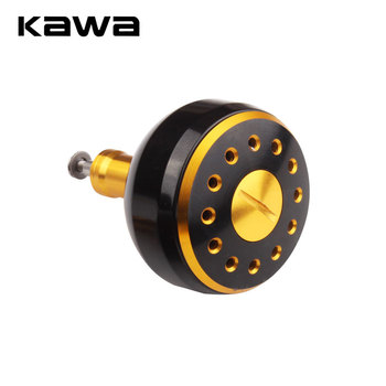 KAWA New Fishing Reel Handle Knob Machined Metal For Bait Casting Spining S And D Tackle Accessory