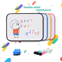 A3 Size Double Sided WhiteBoard Dry Erase White Board Kid Drawing Writing Design learning Practice Board Silicone Edge