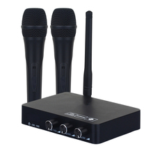K2 kablosuz Mini aile ev Karaoke yankı sistemi el şarkı makinesi kutusu mikrofon Karaoke çalar