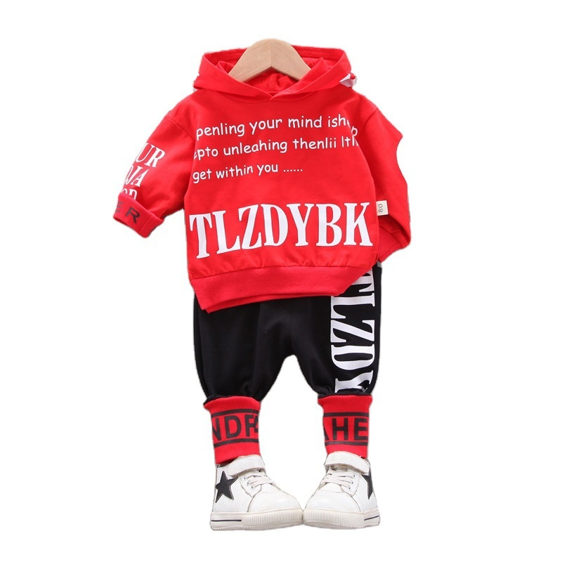 1194.0¥ 45% OFF Fashion Spring Autumn Baby Clothes For Boys Children Hoodies Pants 2Pcs/sets Toddle...