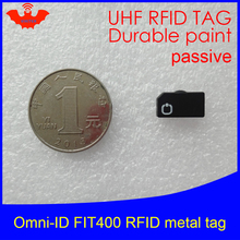 Omni-ID Fit 400 UHF RFID  metal tag 860-960MHZ 915M EPC C1G2 ISO18000-6C desktop usb uhf gen2 rfid support iso18000 6b iso18000 6c epc c1g2 protocol card free shipping free sample card