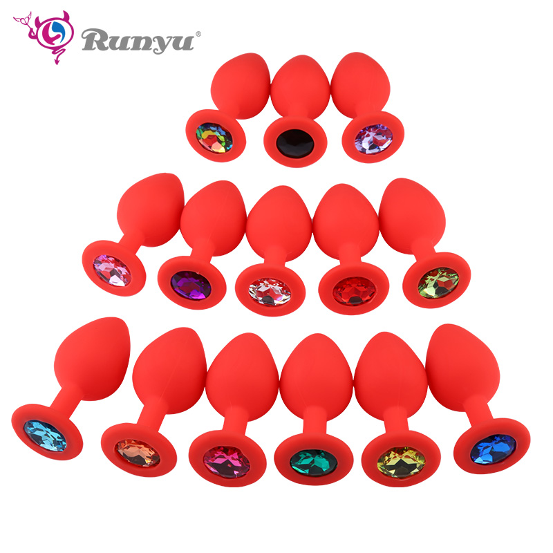 Silicone Butt Plug Anal Plug Unisex Sex Stopper Small Size For Beginner Adult Toys For Men/Women Anal Trainer For Couples Gay