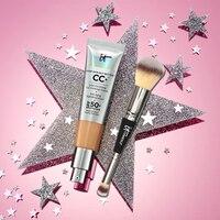 Крем для полного покрытия солнцезащитный крем для лица SPF 50 + повторяющаяся Кисть для макияжа № 7