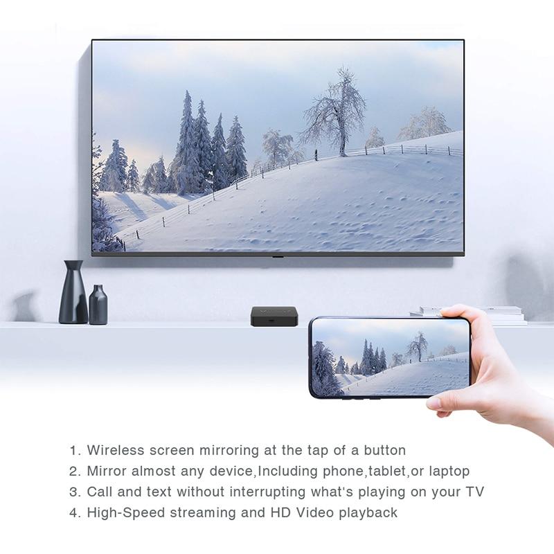 In Lager MINIX Neue NEO T5 TV BOX Amlogic S905X2 2G 16G Chrome 4K Ultra HD Google zertifiziert Android TV 9,0 Pie Smart TV BOX