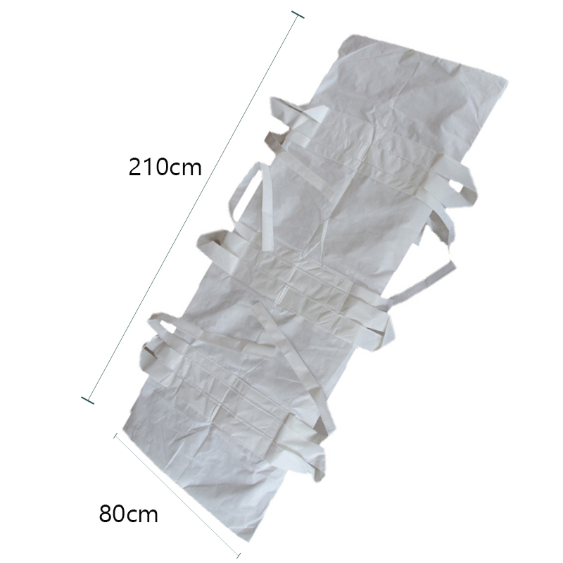 Waterproof Filling Body Bag Dead BodyBag Antiseptic Hospital Morgue Transportation Dead Cadaver Bags Virus Isolation Bags 80*210