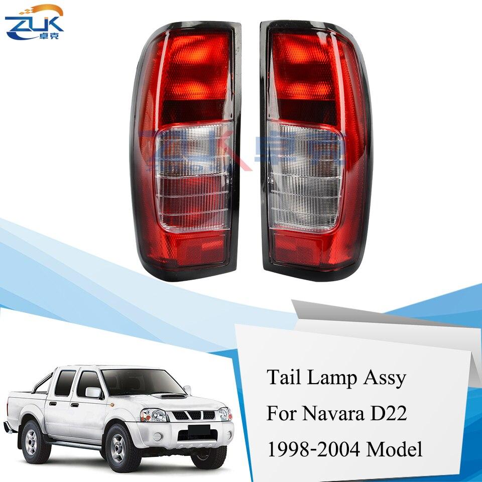 For 1998-2004 Nissan Hardbody D22 2000 Navara Frontier License Plate Light Pair