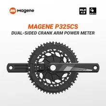 Magene-medidor recargable de potencia P325 CS, bielas de doble cara, Ordenador de manivela de bicicleta de carretera, velocímetro impermeable para SRAM SHIMANOBB86