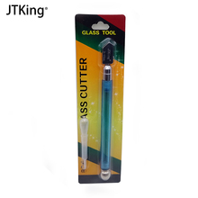 1 diamond glass cutter new high quality automatic oil glass porcelain drill mirror DIY manual cutting tool jfbl 2x oil feed pistol grip stained glass cutter cutting tool