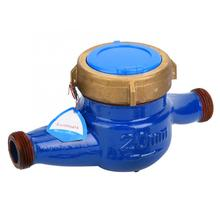 LXS-20E 20 мм медь водонепроницаемый водопроводной воды метр Манометр тестер для сада домашнего использования латунный водопровод разъем