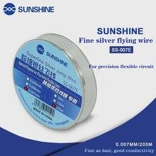 Солнечный свет летающая линия скакающий провод 0007 мм для процессора