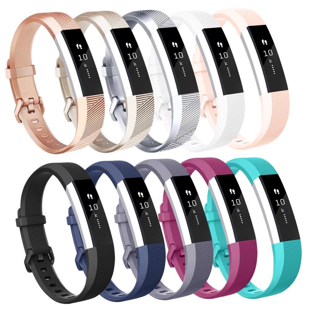 Bandas de Baaletc compatibles con pulseras deportivas Fitbit Alta HR/Fitbit Alta con hebilla de Metal segura para Fitbit Alta HR/Fitbit Alta