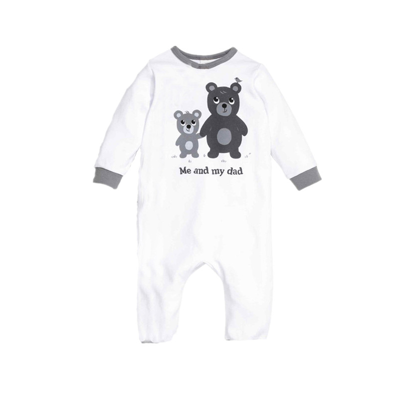2020 Cute Infant Baby Boys Clothes Cartoon Animal Printed Cotton Rompers Girls Bebe Jumpsuit Spring Autumn Kids Toddler Clothing