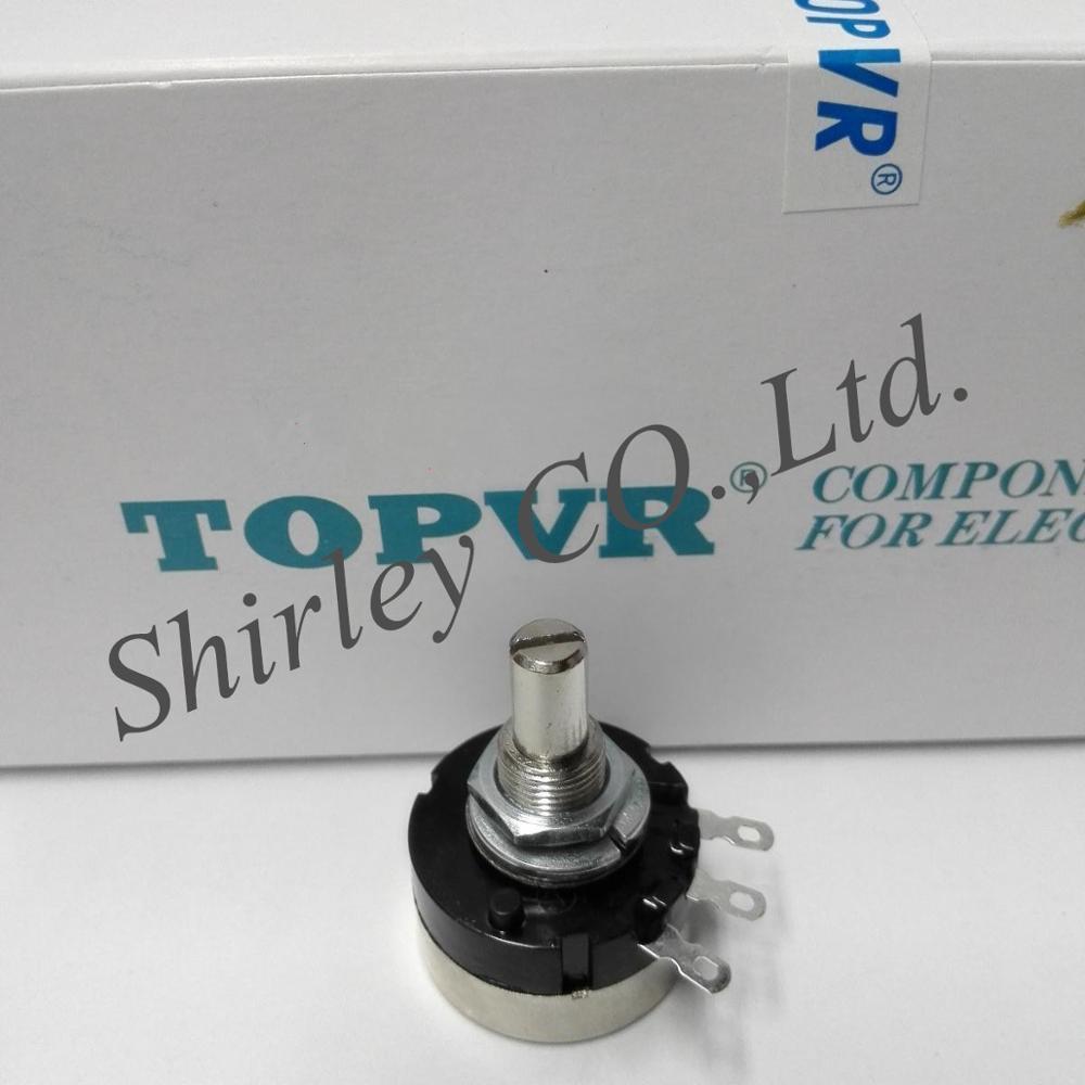 100% Новый оригинальный TOPVR потенциометр RV24YN20SB203 20K переключатель RV24YN 20S B203