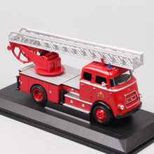 Kids 1/43 Road Signature 1962 DAF A1600 FIRE ENGINE Truck Vehicles Scale Diecast Car Toy Miniatures Model Acrylic Box Collection