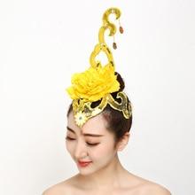 Dance Headdress Performance Kids Hair Accessories Tiara Multi-color Classical