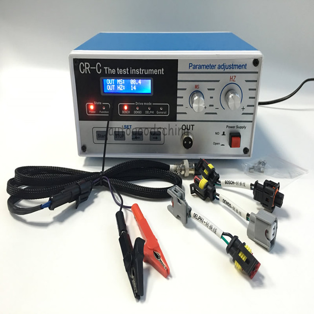 Freies Verschiffen CR C multifunktions diesel common rail injektor tester tool diesel Injektor fahrer tester