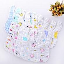Бандана из хлопка нагрудники для малышей детский халат кормления
