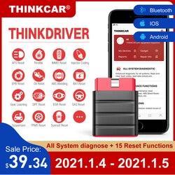 LAUNCH Thinkdriver Bluetooth OBD2 Scanner Automotive OBD 2 IOS Car Diagnostic Code Reader OBD Android Scanner PK Thinkdiag AP200