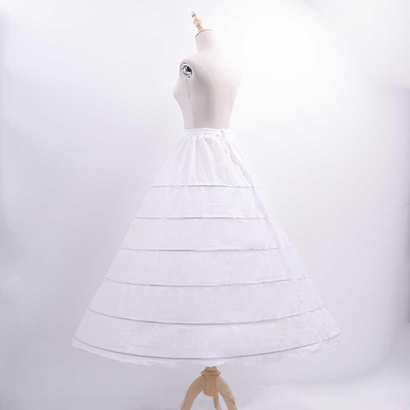 6-нитка Сталь кольцо большой Пышная юбка с подкладкой Эластичный ремешок регулировки