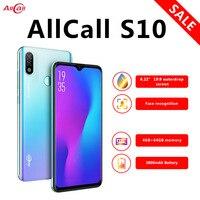 Global Version Allcall S10 Smartphone Helio P23 4GB+64GB Octa core 16MP Dual camera 6.22 Waterdrop Screen 4G LTE Mobile Phone