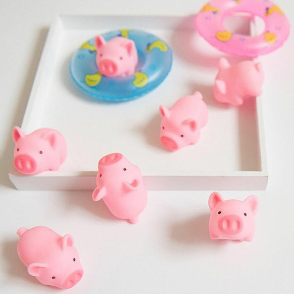 Mini Cute Squishy Pink Pig Toy Antistress Ball Squeeze Mochi Rising Toys Abreact Soft Sticky Squishi Stress Relief Toys Gift