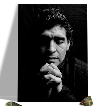 Diego Maradona Football Poster Canvas Comics Printed sports Decoration Painting Home Wall Living Study Room Child Room Bedroom 18