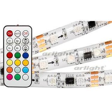024145 Ribbon SPI-5000SE-IR21B 12V RGB 5060,300 LED X3, 1804, REMOTE CONTROL) ARLIGHT 1-компл