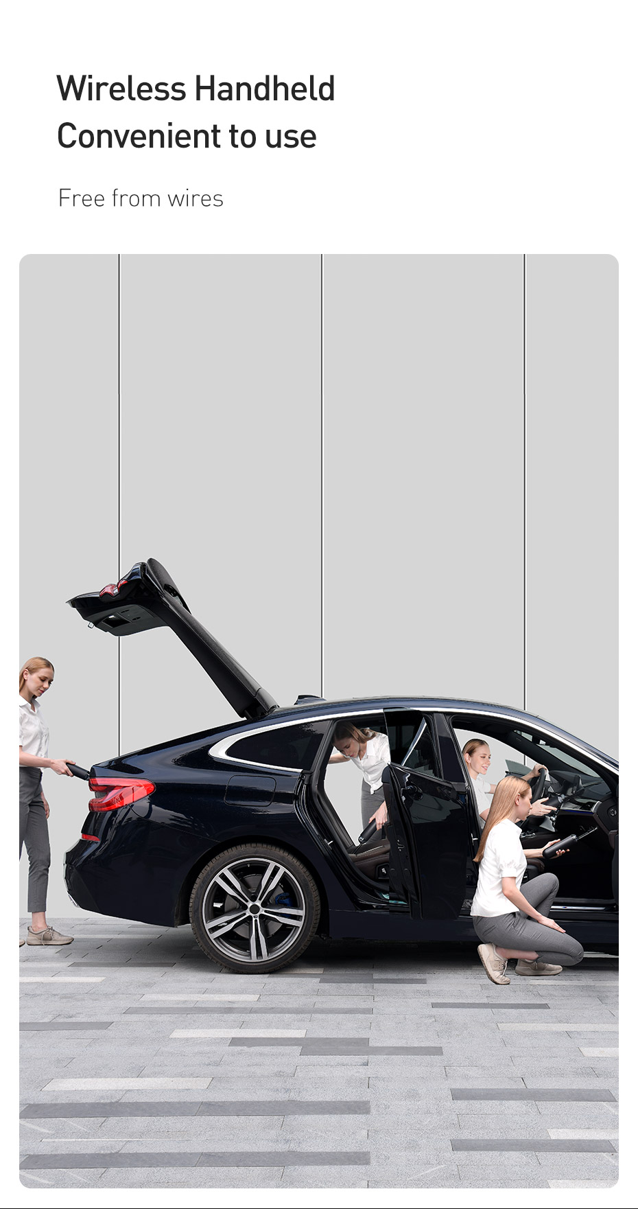 Wireless Car Vacuum