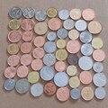Монеты в разных странах, 60 шт., нет повторов, коллекция 100% реальных оригинальных монет, лучший подарок