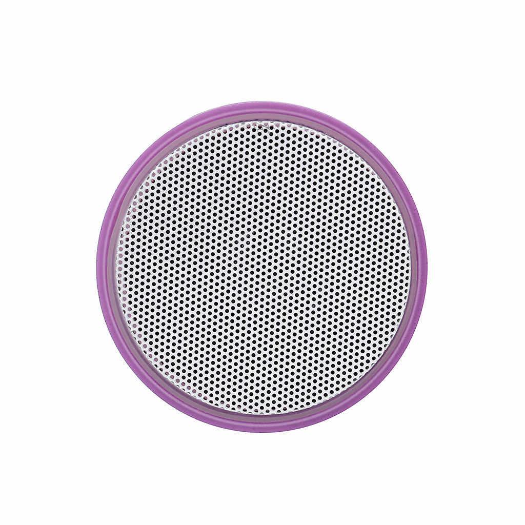 HIPERDEAL ミニ亀裂ライトスピーカーポータブルワイヤレス Blueteeth スピーカーステレオサウンドサブウーファー列カラフルなスピーカー Aug22
